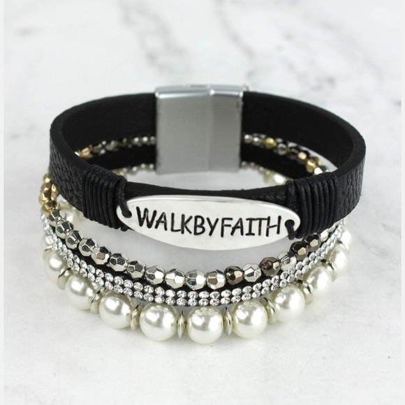 Mansion Chic Jewelry - Walk By Faith Bracelet